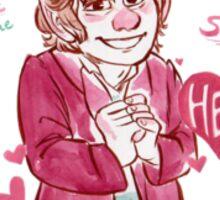 Bilbo Baggins - Buglarhobbit Valentine Sticker