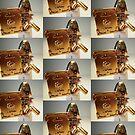 'The Golden Man' Super Villian Custom Minifig by Customize My Minifig