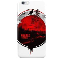 Forest rangers iPhone Case/Skin
