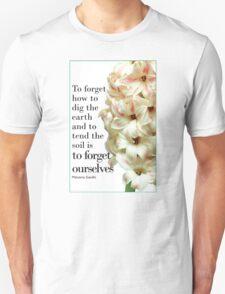 For Literature Loving Gardeners Unisex T-Shirt