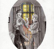 "Life is Infinitely Stranger"" - Sherlock and John - 221B version #  by livielightyear"