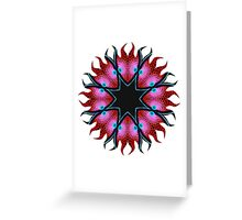 Electric Lights Greeting Card