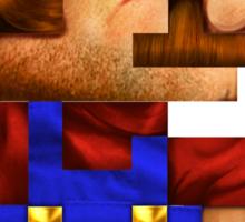 8-Bit Mario Realistic Sticker
