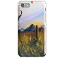 Western Landscape iPhone Case/Skin