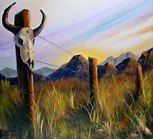 Western Landscape by Ken Howard