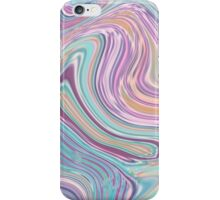 sweet candy baby blue pastel pink bubble gum iPhone Case/Skin