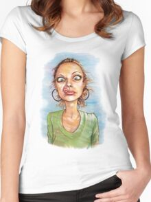b-side Women's Fitted Scoop T-Shirt