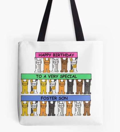 Happy Birthday to a very special foster son. Tote Bag