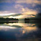 morning magic on the lake by axieflics