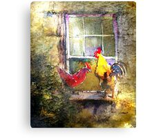 Breaking And Entering Canvas Print