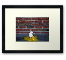 Humpty Dumpty is a Victim of Political Correctness Framed Print
