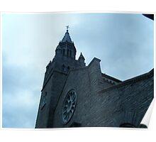 A Gothic Church Poster