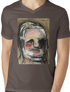 band-aid man Mens V-Neck T-Shirt
