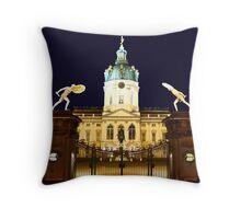 Charlottenburg at night Berlin Germany Throw Pillow