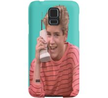 Zack Morris Saved By the Bell 90's Design Samsung Galaxy Case/Skin