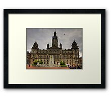 Glasgow City Chambers Framed Print