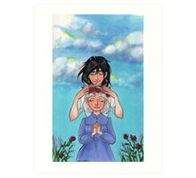 Sophie and Howl: Sophie's Coronation Art Print