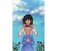 Sophie and Howl: Sophie's Coronation Photographic Print