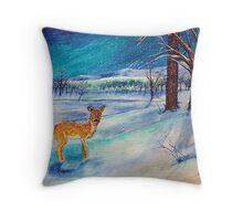 Winter Wonderland 3 of 4 Throw Pillow