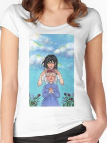 Sophie and Howl: Sophie's Coronation Women's Fitted Scoop T-Shirt