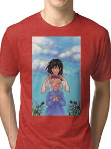 Sophie and Howl: Sophie's Coronation Tri-blend T-Shirt
