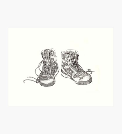 Trusted Boots Art Print