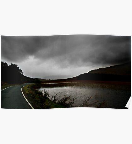 Stormy Scotland Poster