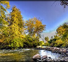 Kern River - CA by Chris Odchigue