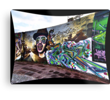 The Wall Metal Print
