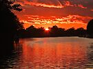 Red Sky at Night  by Colin J Williams Photography