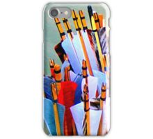 Nocking the arrows iPhone Case/Skin