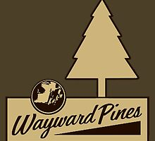 Wayward Pines - Welcome Sign  by TylerMellark