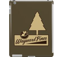 Wayward Pines - Welcome Sign  iPad Case/Skin