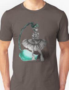 Rainbow Punk: Tirquoise Steam Unisex T-Shirt