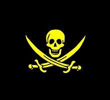Smartphone Case - Pirate Flag (34) by Mark Podger