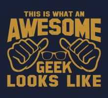 This is What an AWESOME GEEK Looks Like Retro Kids Clothes