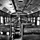 Glenreagh Train Carriage by Christopher R Pitts