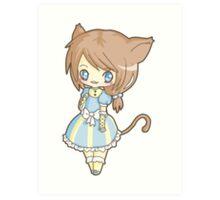 Neko Lolita Art Print