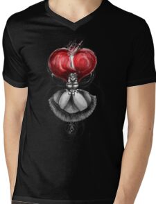 Rainbow Punk: Crimson Lolita Mens V-Neck T-Shirt
