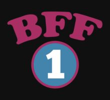 BFF 1 Best friends forever number 1 with matching 2 by jazzydevil