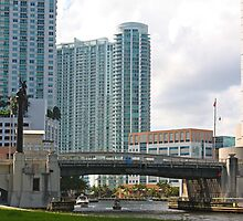 Bridge Over Miami River by longaray2