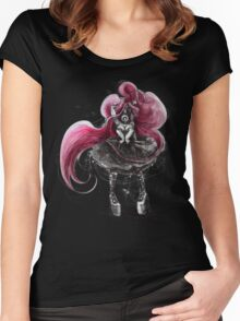 Rainbow Punk: Pinky Punk Women's Fitted Scoop T-Shirt
