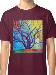 Bright Purple Tree Classic T-Shirt