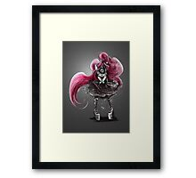 Rainbow Punk: Pinky Punk Framed Print