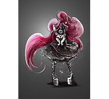 Rainbow Punk: Pinky Punk Photographic Print