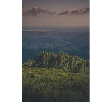 Forest/City/Ocean  Photographic Print