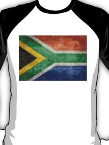 National flag of the Republic of South Africa T-Shirt
