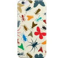 Insects pattern iPhone Case/Skin