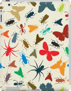 Insects pattern by Richard Laschon