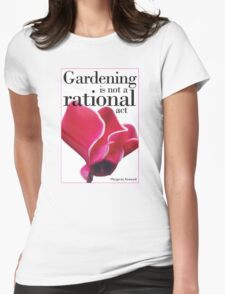 For Literature Loving Gardeners Womens Fitted T-Shirt